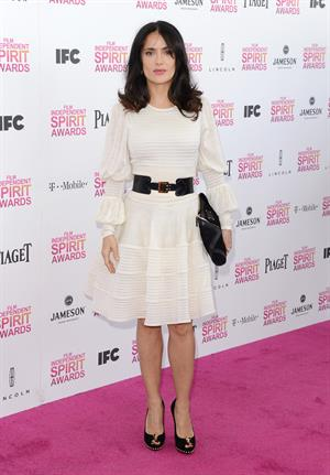 Salma Hayek 2013 Film Independent Spirit Awards in Santa Monica - February 23, 2013