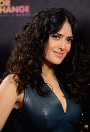 Salma Hayek The Sound of Chance Live Concert in London 01.06.13