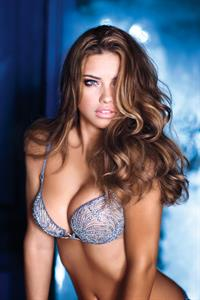 Adriana Lima Victoria Secret Holiday 2010