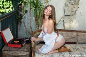 Lauren Lee in White for Playboy Plus