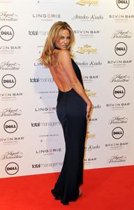 Sarah Harding Lingerie London fashion show - October 24, 2012