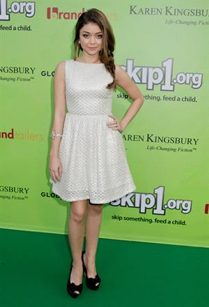 Sarah Hyland Skip1.org's  Skip And Donate  Gala Event -West Hollywood, Apr. 6, 2013