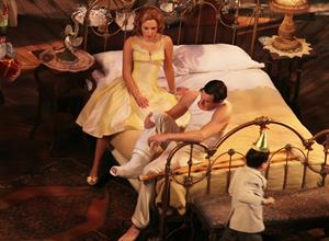Scarlett Johansson makes her debut in 'Cat On A Hot Tin Roof' on Broadway in New York December 20, 2012