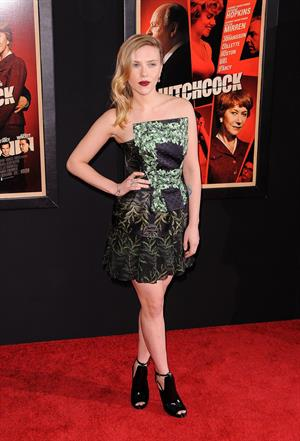 Scarlett Johansson at the  Hitchcock  New York Premiere 11/18/12