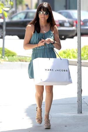 Selma Blair Shops Inside Marc Jacobs in Los Angeles - July 30, 2012