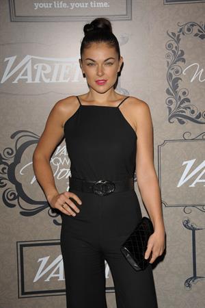 Serinda Swan Variety's 4th Annual Power of Women luncheon - Oct. 5, 2012