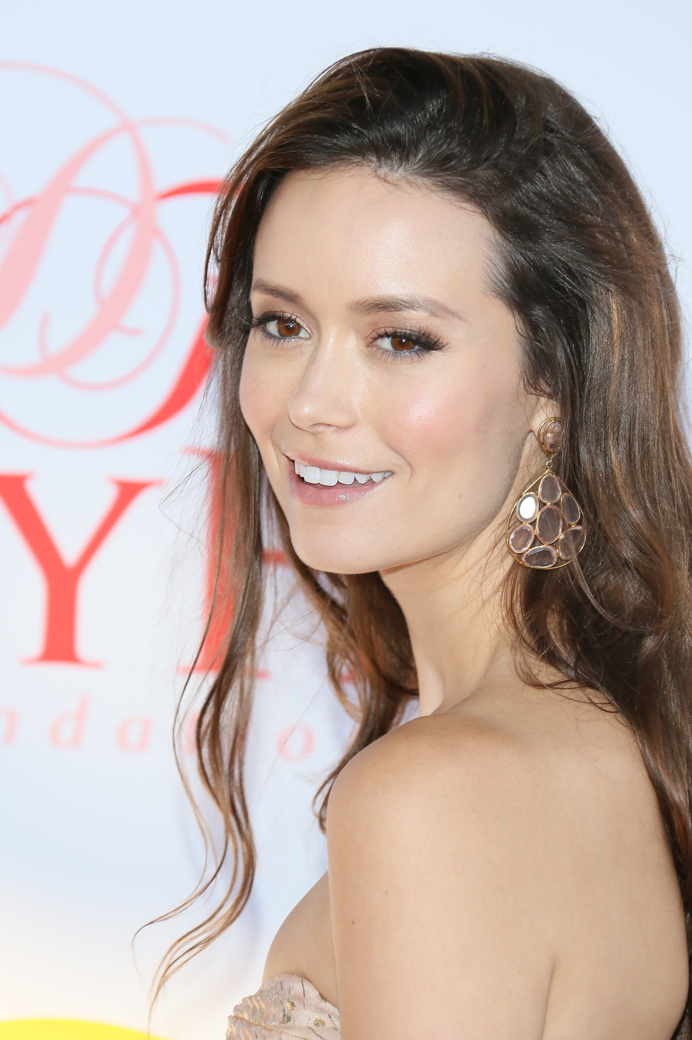 Summer Glau attends the Dizzy Feet Foundation Second 'Celebration of Dance' Gala at Dorothy Chandler Pavilion on July 28, 2012 in Los Angeles, California