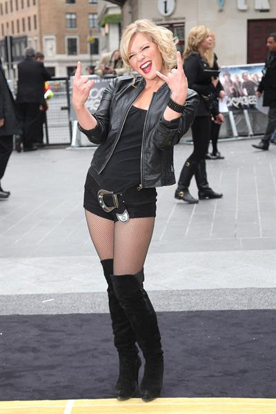 Suzanne Shaw - 'Rock Of Ages' premiere, London, June 10, 2012