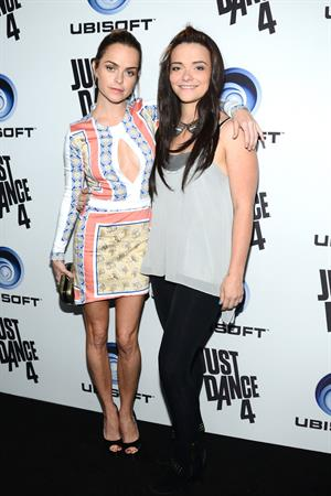 Taryn Manning Ubisoft Presents The Launch Of Just Dance 4 at Leington Social House Hollywood (10/02/12)