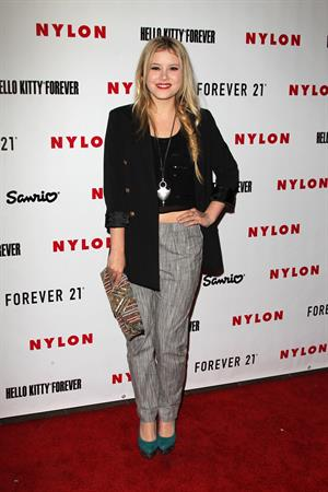 Taylor Spreitler Nylon Magazine October launch in West Hollywood 10/15/12