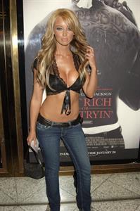 Lauren Pope in lingerie
