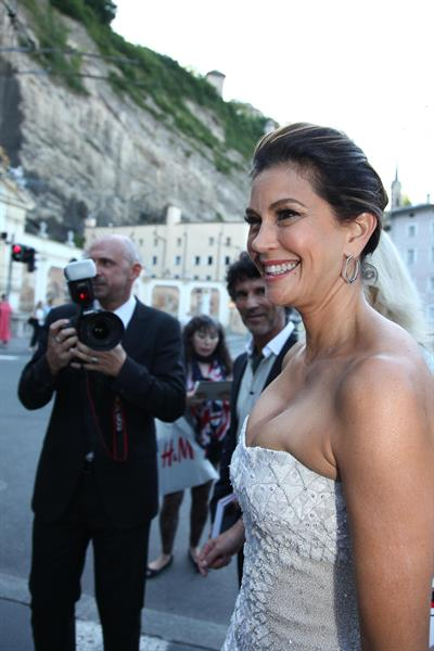 Teri Hatcher - La Boheme Premiere in Salzburg January 8, 2012