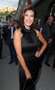 Teri Hatcher - Arrives for a Concert Salzburg Festival July 30, 2012