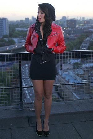 Tulisa Contostavlos Video shoot in Central london - October 10, 2012