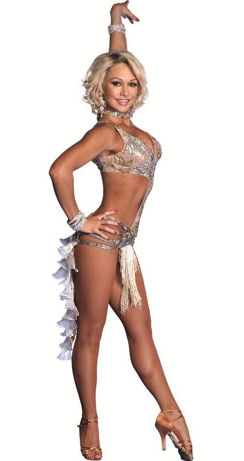 Kristina Rihanoff in a bikini