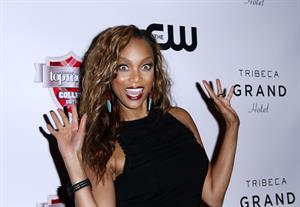 Tyra Banks at premiere of America's Next Top Model College Edition, August 22, 2012