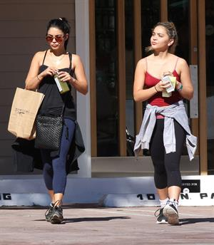 Vanessa Hudgens out and about in Studio City 10/28/12