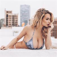 Lindsey Pelas in a bikini