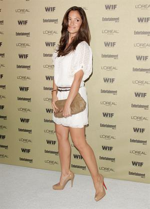 Minka Kelly 2010 Entertainment Weekly and Women in Film pre Emmy party on August 27, 2010