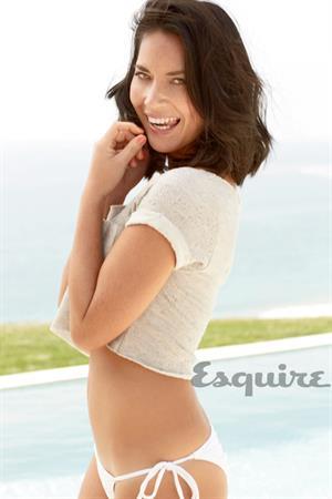 Olivia Munn poses for Esquire