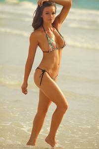 Ashley Ann Vickers in a bikini