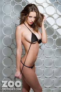 Emily Agnes in a bikini