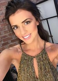 Lucy Mecklenburgh taking a selfie