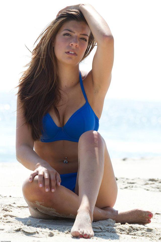 Brielle Cook in a bikini
