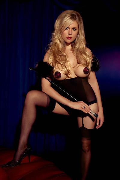 Abi Titmuss in lingerie