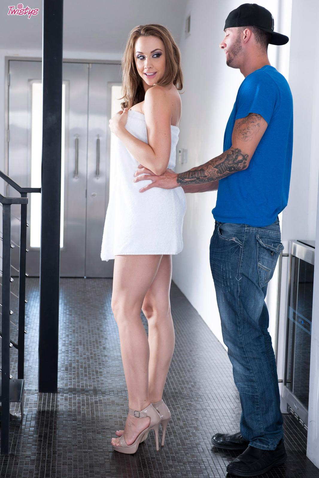 Gettin' Kinky In The Shower.. featuring Chanel Preston   Twistys.com