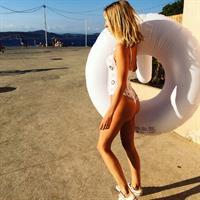 Kimberley Garner in a bikini