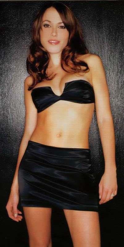 Kym Valentine in a bikini