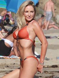 Nikki Lund in a bikini