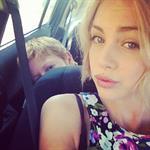 Taylor Godfrey taking a selfie