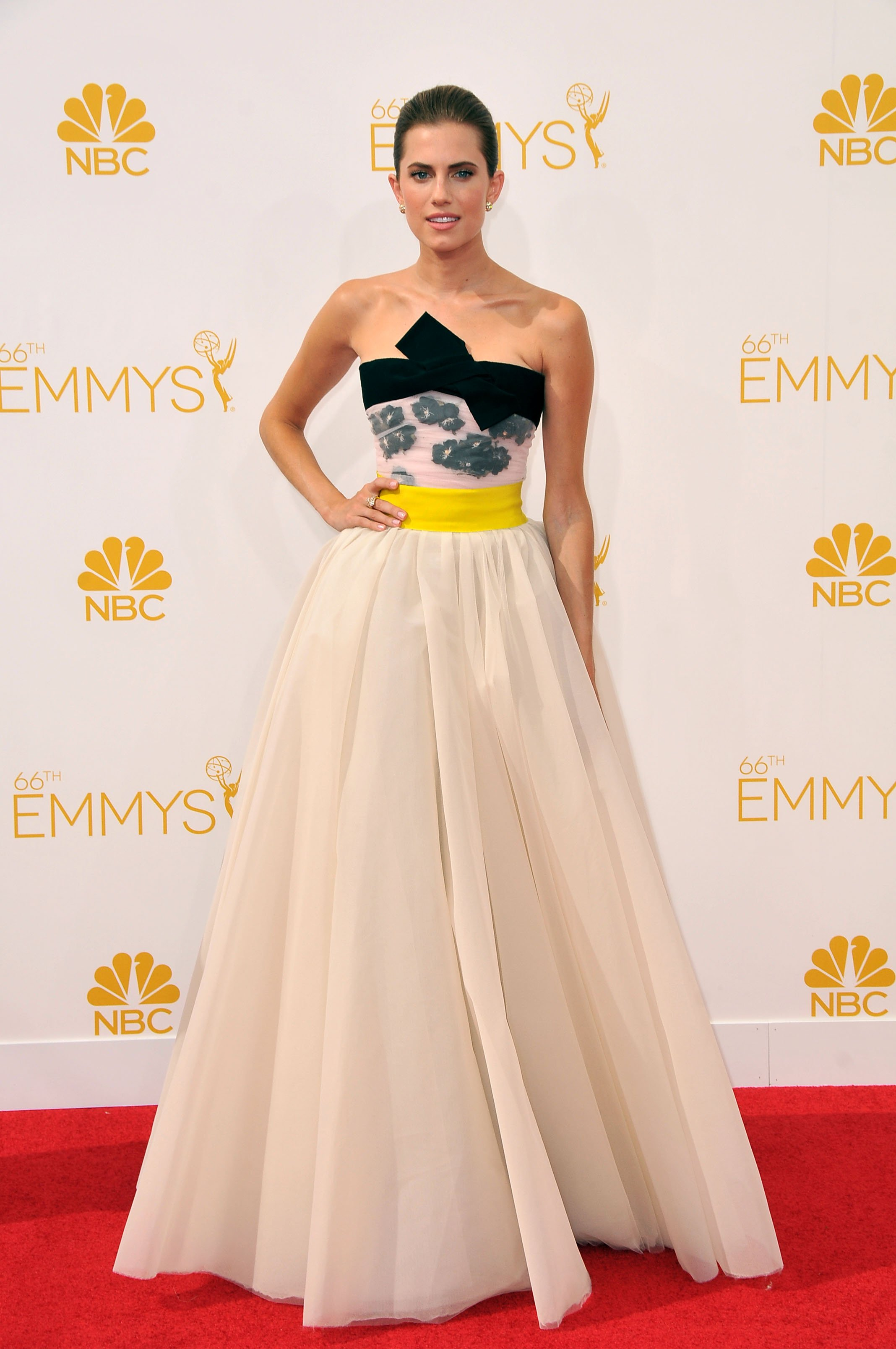 Allison Williams at the 2014 Primetime Emmy Awards August 25, 2014