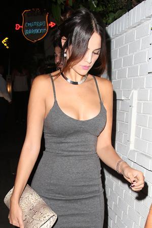 Eiza Gonzalez leaving Chateau Marmont August 28, 2014