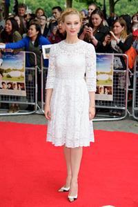 Sarah Gadon UK premiere of Belle June 5, 2014