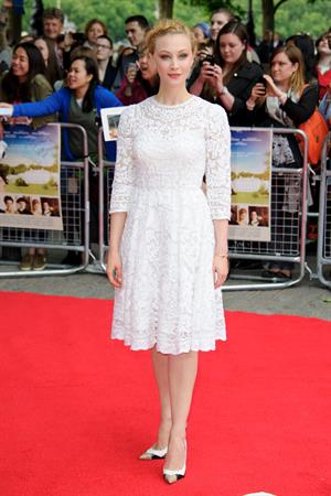 Sarah Gadon UK premiere of Belle June 5, 2014