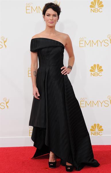 Lena Headey at the 66th Primetime Emmy Awards August 25, 2014