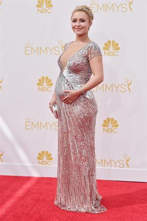 Pregnant Hayden Panettiere attends 66th annual Primetime Emmy Awards, arrivals August 25, 2014