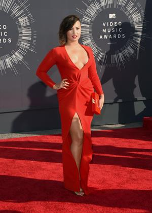 Demi Lovato at the 2014 MTV Video Music Awards, Inglewood August 24, 2014