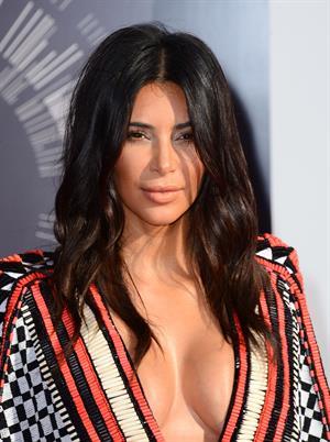 Kendall Jenner, Kim Kardashian and Kylie Jenner- MTV Video Music Awards Aug. 24, 2014