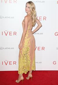 Lindsay Ellingson at The Giver premiere August 11, 2014