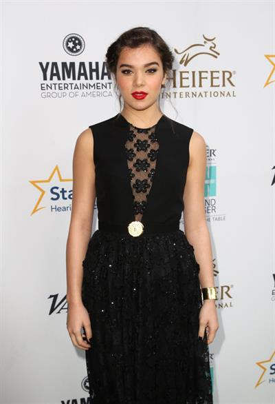 Hailee Steinfeld at Beyond Hunger A Place At The Table Gala in Beverly Hills