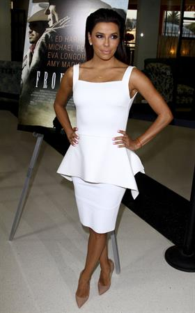 Eva Longoria at Frontera Los Angeles premiere August 21, 2014