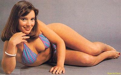 Nicola Bryant in a bikini