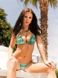 Rosie Jones in a bikini