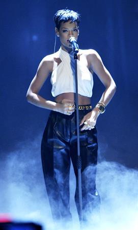 Rihanna attends 'Wetten dass..?' in Freiburg, Germany 14/12/2012