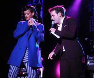 Rihanna Westfield Stratford Lights London Switch On - Performance (November 19, 2012)