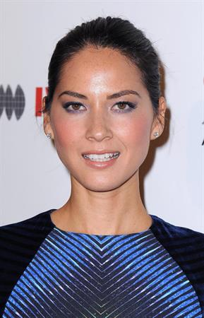Olivia Munn 2012 Courage in Journalism Awards in Beverly Hills 10/29/12